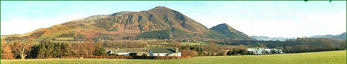 Broadness self catering cottage near Bassenthwaite Lake