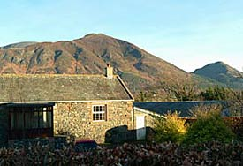 Broadness Cottage with views of Skiddaw
